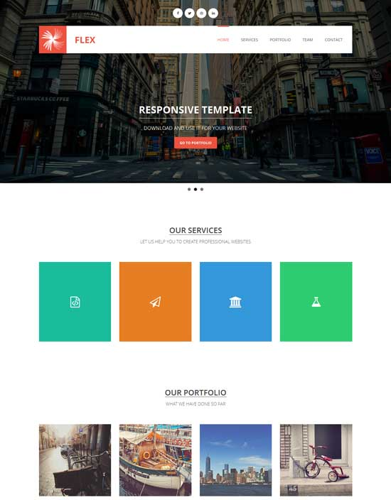 Flex--Free-responsive-HTML5-CSS3-bootstrap-template