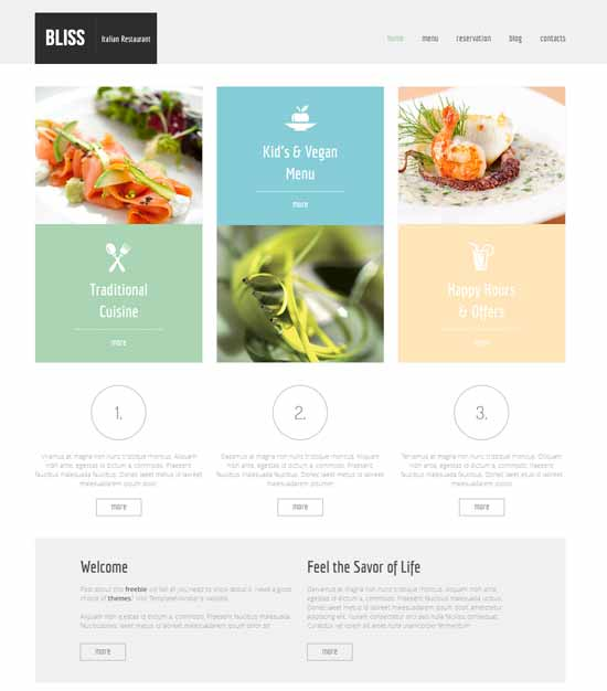 Gourmet-Place-Site-Free-HTML5-template
