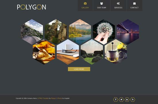 Polygon-Free-HTML5-CSS3-template