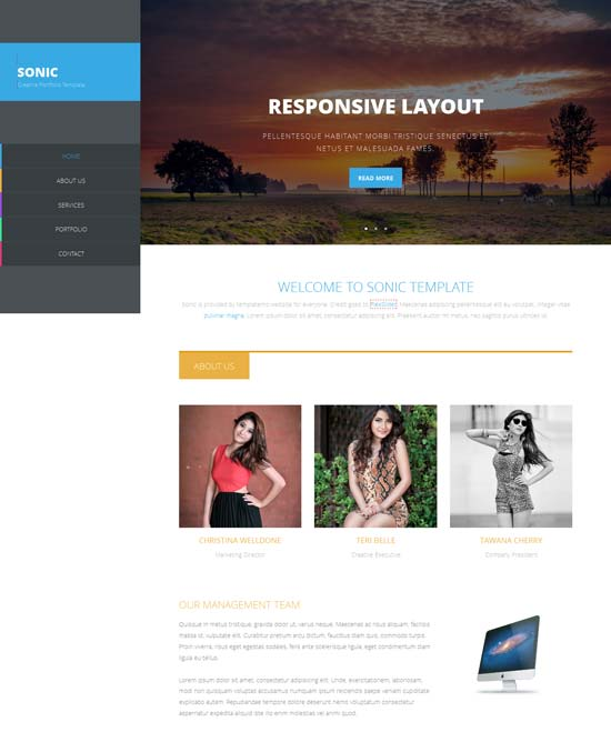 Sonic-Free-Responsive-HTML5-template