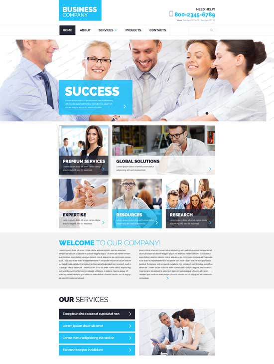 free-html5-business-website-template